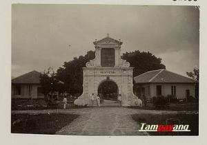 Benteng Nieuw Victoria, 1910