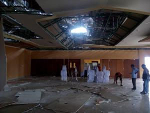 gedung dprd-gempa