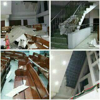 gereja rehobot pasca gempa