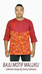 Baju Motif Maluku 2