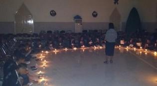 Malam Perenungan dan Meditasi 108 calon sidi baru Jemaat GPM Lateri Ambon