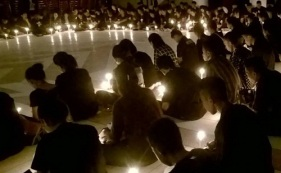 Malam Perenungan dan Meditasi 205 calon sidi baru Jemaat GPM Tual