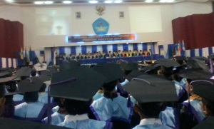 Universitas Pattimura mewisuda 1.160 sarjana pada Rabu (31/8/2016) bertempat di Auditorium Universitas Pattimura, Poka, Ambon.
